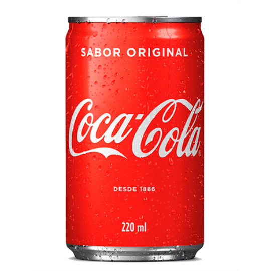 Coca Cola Original Lata 220ml