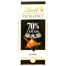 Chocolate Lindt Excellence 70% Cocoa 100g