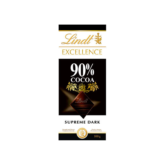 Chocolate Lindt Excellence 90% Cocoa 100g