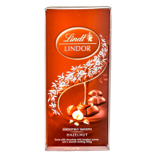 Chocolate Lindt Lindor Milk Hazelnut 100g