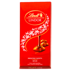 Chocolate Lindt Lindor Single Milk 100g