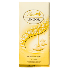 Chocolate Lindt Lindor White 100g