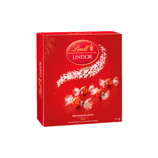 Chocolate Lindt Milk Lindor Balls 112g