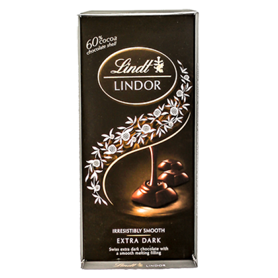 Chocolate Lindt Dark Lindor 60% 100g
