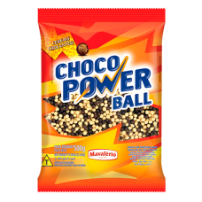 Choco Power Ball Mini Preto Branco Mavalerio 500g
